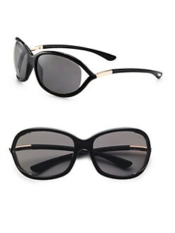 Tom Ford Eyewear - Jennifer Polarized Oval Sunglasses