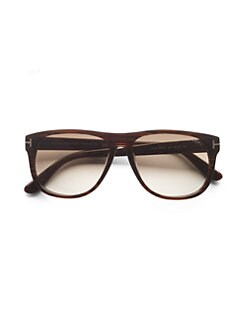 Tom Ford Eyewear - Olivier Wayfarer-Inspired Acetate Sunglasses
