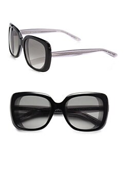 Bottega Veneta - Oversized Square Acetate Sunglasses