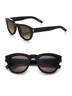 Saint Laurent - Bold Round Sunglasses