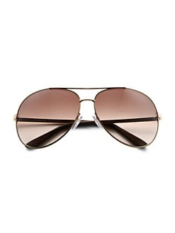 Tom Ford Eyewear - Charles Aviator Sunglasses/Rose Gold
