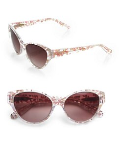 Heidi London - Floral Cat's-Eye Sunglasses
