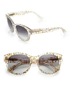 Heidi London - Round Floral Sunglasses