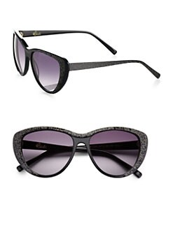 Heidi London - Sparkle Cat's-Eye Sunglasses