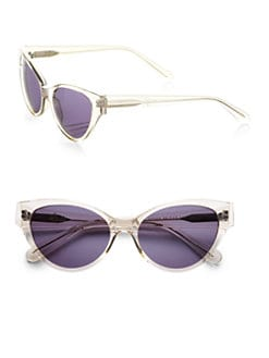 Heidi London - Plastic Cat's-Eye Sunglasses