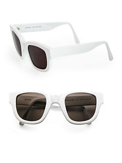 Acne - Square Plastic Sunglasses