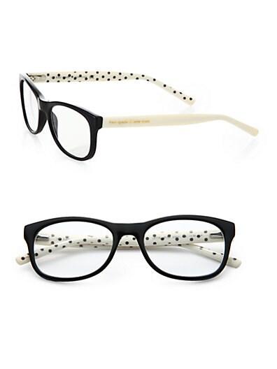 Sale alerts for Kate Spade New York Lettie Polka Dot Reading Glasses - Covvet