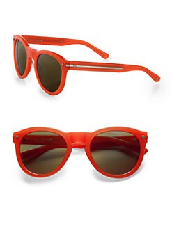 Rag & Bone - The Keaton Coral Round Sunglasses