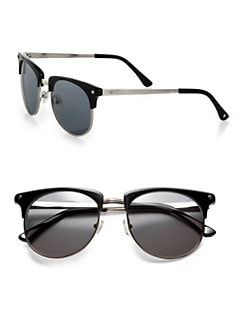 Rag & Bone - The Monroe Round Sunglasses