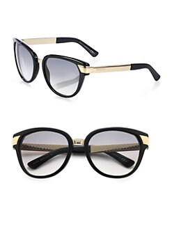 Gucci - Modified Cat's-Eye Sunglasses