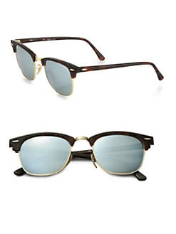 ray ban havana on violet new clubmaster sunglasses  ray ban clubmaster flash lens sunglasses