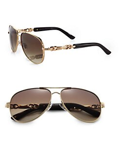 Jimmy Choo - Reese Aviator Sunglasses