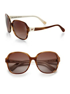 Diane von Furstenberg - Fae Oversized Round Sunglasses