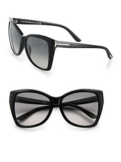 Tom Ford Eyewear - Carli Oversized Cat's-Eye Sunglasses