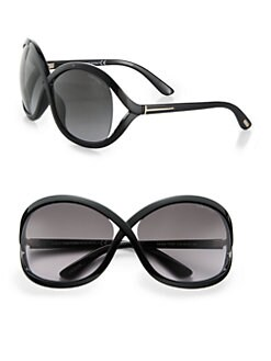 Tom Ford Eyewear - Sandra Oversized Crossover Sunglasses
