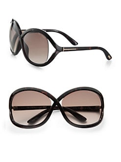 Tom Ford Eyewear - Sandra Acetate Square Crossover Sunglasses