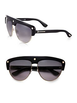 Tom Ford Eyewear - Liane Shield Aviator Sunglasses