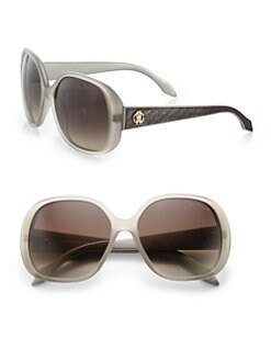 Roberto Cavalli - Taj Oversized Round Sunglasses