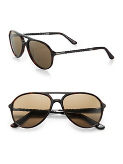 Tod's - Acetate Aviator Sunglasses