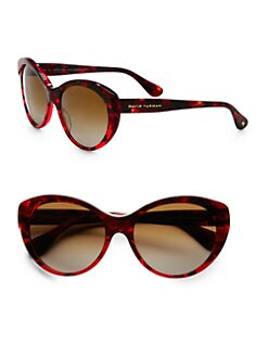 David Yurman - Floating Logo Plastic Cat's-Eye Sunglasses