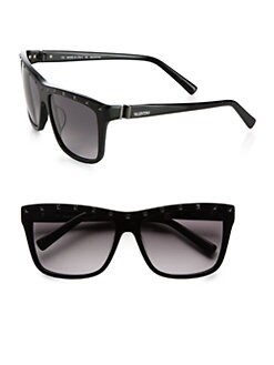 Valentino - Rock Stud Wayfarer Sunglasses