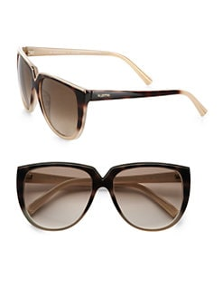 Valentino - Retro Round Acetate Sunglasses