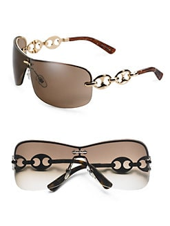 Gucci - Rimless Metal Sunglasses