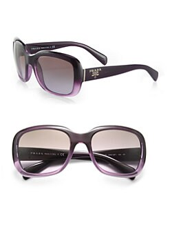 Prada - Oversized Square Glam Sunglasses