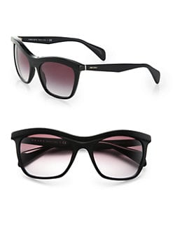 Prada - Square Acetate Sunglasses