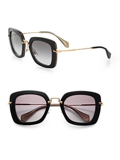 Miu Miu - Square Catwalk Sunglasses