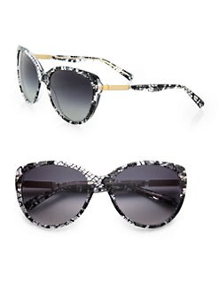 Dolce & Gabbana - Lace Acetate Cat's-Eye Sunglasses