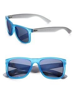 Ray-Ban - Boyfriend Square Rubber Sunglasses