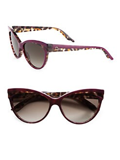 Dior - Plastic Panther Cat's-Eye Sunglasses