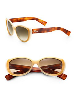 Dior - Small Cat's-Eye Acetate Sunglasses