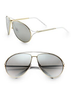Gucci - Metal Aviator Sunglasses