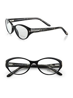 Tom Ford Eyewear - Oval Acetate Reading Glasses
