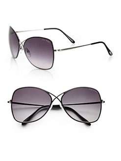 Tom Ford Eyewear - Colette Rimless Aviator Sunglasses