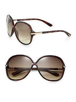 Tom Ford Eyewear - Calgary Crossover  Square Plastic Sunglasses