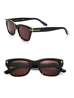 Tom Ford Eyewear - Snowdon Square Plastic Sunglasses