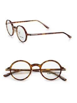 Tom Ford Eyewear - Round Acetate Reading Glasses