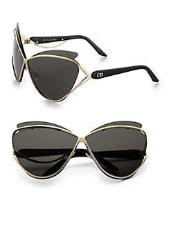 Dior - Exaggerated Two-Tone Cat's-Eye Sunglasses