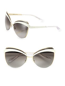 Dior - Metal & Plastic Cat's-Eye Sunglasses
