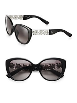 Dior - Oversized Metal & Plastic Sunglasses