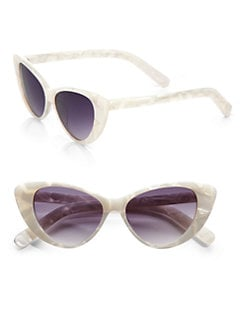 Elizabeth and James - Benedict Retro Cat's-Eye Sunglasses