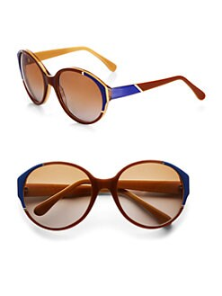 Marni - Oversized Oval Plastic Sunglasses