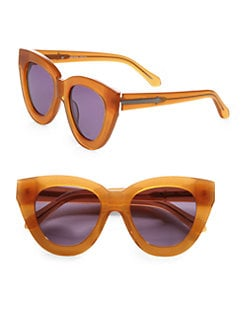 Karen Walker - Anytime Cat's-Eye Acetate Sunglasses