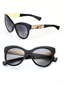 Dolce & Gabbana - Modified Cat's-Eye Sunglasses