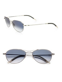 Oliver Peoples - Aero Modern Polarized Aviator Sunglasses