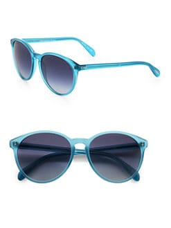Oliver Peoples - Corrie Round Plastic Sunglasses