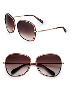 Oliver Peoples - Emely Oversized Square Sunglasses